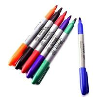 Permanent Markers Eco-friendly Tattoo Pen Sharpie Fine Point 6 Colors Marker  FZ
