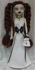 BeGoths BLEEDING EDGE Gothic Doll Clothes #26 Dress, Corset, Purse, Necklace