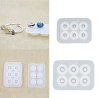Beads Bracelet Silicone Mold Fit For Add-a-Bead Jewelry Making Resin Mould DIY