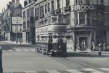 a0114 - Birmingham Tram no 808 at John Bright Street - photograph