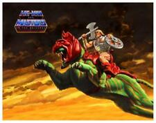 "He-Man  - 24"" POSTER Masters of the Universe **VERY LARGE** He Man & Battlecat"