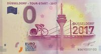 BILLET 0  EURO DUSSELDORF TOUR START 2017 ALLEMAGNE  2017  NUMERO 100
