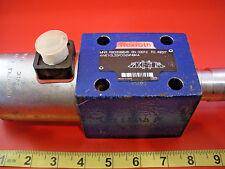Rexroth 4WE10L33/CG24N9K4 Directional Control Valve Solenoid R900599646 used