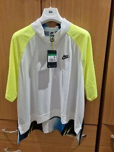 BNWT Nike Tennis CHALLENGE COURT half zip polo Shirt  XL Agassi Retro