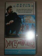 DANCES WITH WOLVES - Kevin Costner (VHS VIDEO)