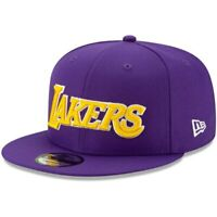 Los Angeles Lakers New Era Statement Edition 9FIFTY Adjustable Hat - Purple