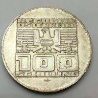 1975 Austria Commemorative 100 Schilling 720 Silver Circulated Coin C732