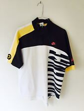 Nike Challenge Court Vintage Agassi Shirt Polo F.I.T Size M