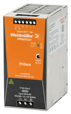 Weidmüller 146949 PRO ECO 240W 24V 10A POWER SUPPLY 1469490000
