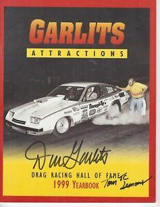 Big Daddy Don Garlits Drag Racing Hall of fame Year Books