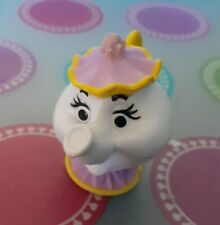 Disney Beauty and the Beast plastic miniature Mrs. Potts 2 inches cute 💜