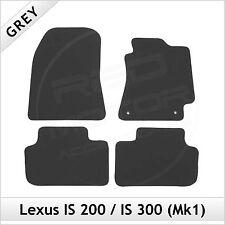Lexus IS 200 300 Mk1 1999-2005 Tailored Carpet Car Floor Mats GREY