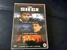 The Siege (DVD, 2004). Denzel Washington/ Bruce Willis.