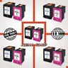 Black & Tri-color Ink Cartridge for HP 60 XL 61 XL 62 XL 63 XL 65 XL-NEW CHIP