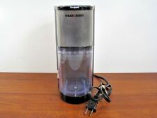 Black & Decker Coffee Grinder Stainless CBM205 Fine Coarse Pulse Control