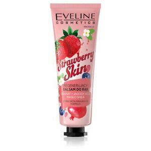 Eveline, Strawberry skin, regenerating hand balm, 50ml