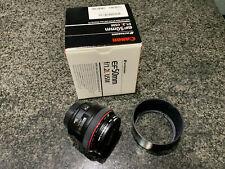 Canon EF 1257B002 50mm f/1.2 L AF USM Lens