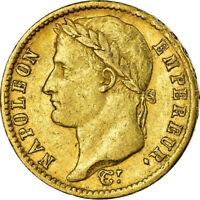 [#499616] Monnaie, France, Napoléon I, 20 Francs, 1810, Paris, TTB, Or