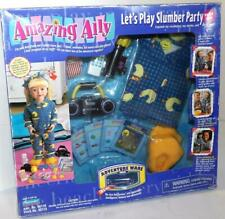 Playmates Amazing Ally Let'S Play Slumber Party Play Set Adventure Ware 1999