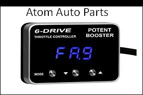 THROTTLE CONTROLLER BOOSTER 6 DRIVE SUIT PAJERO SPORT 2015-