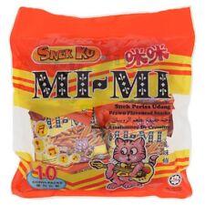 Snek Ku Mi Mi - Savoury Snack Prawn Flavour Halal 10 small packets