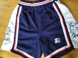 Connecticut UConn Huskies Basketball Vintage Authentic Starter  Shorts Like NEW!