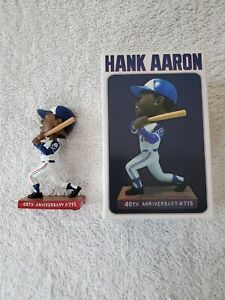 Hank Aaron 40th Anniversary Bobble Head