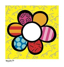 "BRITTO ROMERO - FLOWER POWER I - ART PRINT POSTER 21"" x 20"" (1247)"