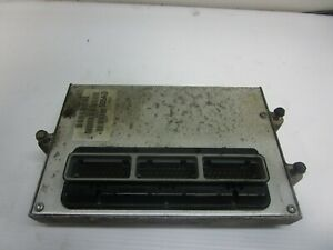 Jeep Wrangler 1997 TJ 2.5L Engine Computer  Manual Transmission ECM 56041305AD