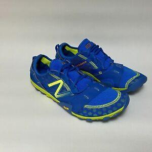 Mens New Balance Minimus Blue Running Training Vibram Shoes Trail Trainers Uk 10
