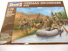 REVELL 02508-ingegneri tedeschi seconda guerra mondiale (1:72) FIGURE IN PLASTICA MODELLO kit-wargaming