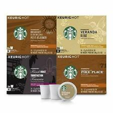 Starbucks Black Coffee K-Cup Variety Pack for Keurig Brewers 96Count Exp 10/2019