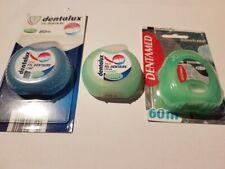 Sonderangebot 5x Zahnseide zur Zahnpflege verschiedene Marken 400m