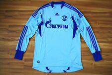 FC SCHALKE 04 FOOTBALL SHIRT 2011-2012 JERSEY TRIKOT GOALKEEPER LONGSLEEVE LARGE