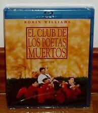 EL CLUB DE LOS POETAS MUERTOS-DEAD POETS SOCIETY-BLU-RAY-NUEVO-NEW-*(SIN ABRIR)*
