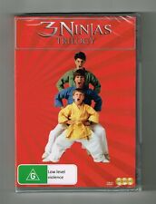 3 Ninjas Trilogy (3-Movie Collection) Dvd 3-Disc Set Brand New & Sealed