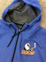 San Diego Gulls Zip Up Hoodie Size Large Brand New No Tags*