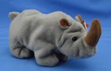 Spike Ty Beanie Baby Rhino Rhinoceros 4th 5th Tags Pvc Error Dob 8 13 1996 Mwnmt