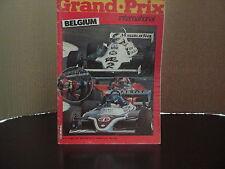 GRAND . PRIX INTERNATIONAL No 32 MAY 27th 1981