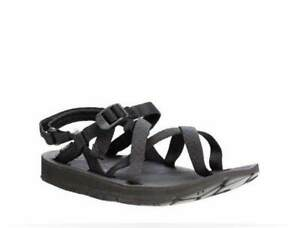 SOURCE by NAOT 38 7 SHORE amphibious rubber Sandals Black RRP $159 New in Box