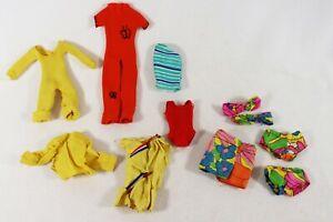 VINTAGE BARBIE FASHION CLOTHING JUMPSUIT SWIMSUIT SHIRTS HAWAIIAN SWIMWEAR