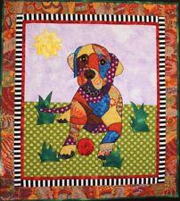 BJ Designs & Patterns Puppy Love Labrador Retriever Applique Quilt Pattern