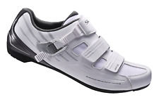 Shimano RP3 Road clip in shoe 2 or 3 bolt cleat compatible EU39 White RRP £80