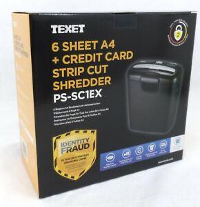 A4 PAPER ELECTRIC SHREDDER STRIP CUT SHREDDING CREDIT CARD DOCUMENT HOME OFFICE