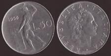50 LIRE VULCANO 1956