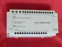 OMRON SYSMAC CPM1-20CDR-A PLC 20POINT I/O DC RELAY AC POWER SUPPLY
