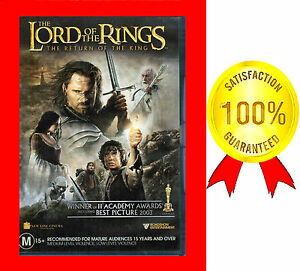 LIKE NEW LORD OF THE RINGS THE RETURN OF THE KING 2 ACADEMY AWARDS BEST PICTURE*