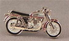 Triumph Bonneville shaped motorcycle pin badge. British motorcycle. Bonnie