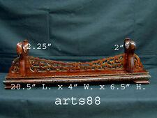 Custom Made Rosewood Pedestal for Display - Medium