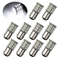 10pcs Bay15d 1157 Car White 64 SMD 3528 LED Tail Brake Stop Signal Light Bulb
